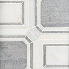 Carrara Cathedral Marble Mosaic