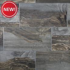 New! Fossil Smoke Porcelain Tile
