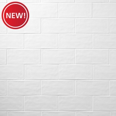 New! Maiolica White Wall Tile