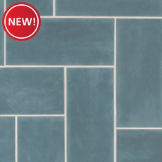 New! Maiolica Bungalow Blue Wall Tile