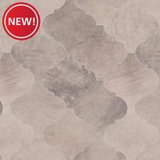 New! Concrete Arabesque Porcelain Mosaic