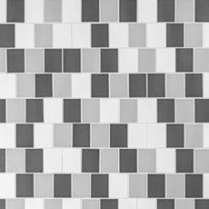 Mixed Offset Shingle Porcelain Mosaic