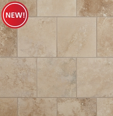 New! Antique Capri Honed Filled Travertine Tile