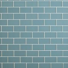 Spa Blue Glass Tile