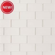 New! Ivory Glass Tile