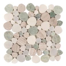 Viviano Paradise Marble Pebblestone Mosaic