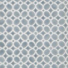 Dama Flora Polished Porcelain Mosaic