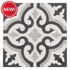 New! Equilibrio Black II Tile