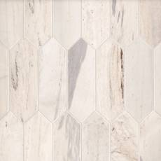 Palissandro Light Picket Marble Mosaic