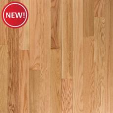 New! Natural Select Oak High Gloss Solid Hardwood
