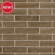 New! Chestnut Polished Ceramic Tile