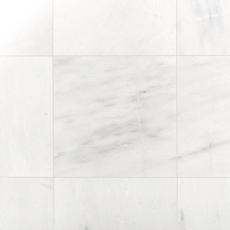Provincial White Honed Marble Tile