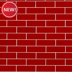 New! Hot Tamale Glass Tile