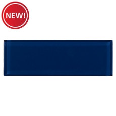 New! Pure True Blue Glass Tile