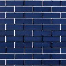 True Blue Glass Tile