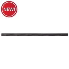 New! Black Matte Dimensions Linear Decorative