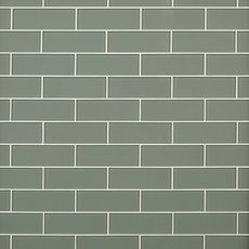 Sage Glass Tile 3 X 9 100086321 Floor And Decor