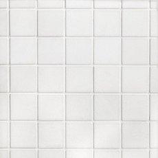 Thassos Square Honed Marble Mosaic