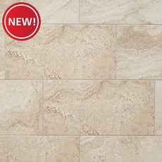New! Elegance Cream Polished Porcelain Tile