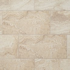 Elegance Cream Polished Porcelain Tile