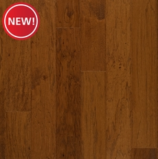 New! Hickory Saddle Handscraped Engineered Hardwood