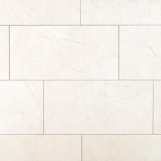 Amelia White Ceramic Tile