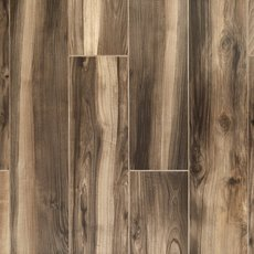 English Walnut Wood Plank Porcelain Tile