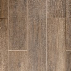 Carson Ridge Brown Wood Plank Porcelain Tile