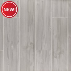 New! Finland Gray Wood Plank Porcelain Tile
