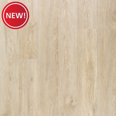New! Crystal Creek Oak Matte Luxury Vinyl Plank with Foam Back