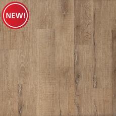 New! Satchel Farms Oak Matte Luxury Vinyl Plank with Foam Back