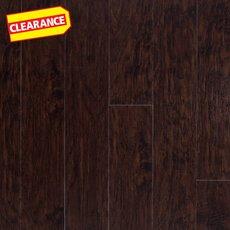 Clearance! Bramble Hickory Rigid Core Luxury Vinyl Plank - Foam Back