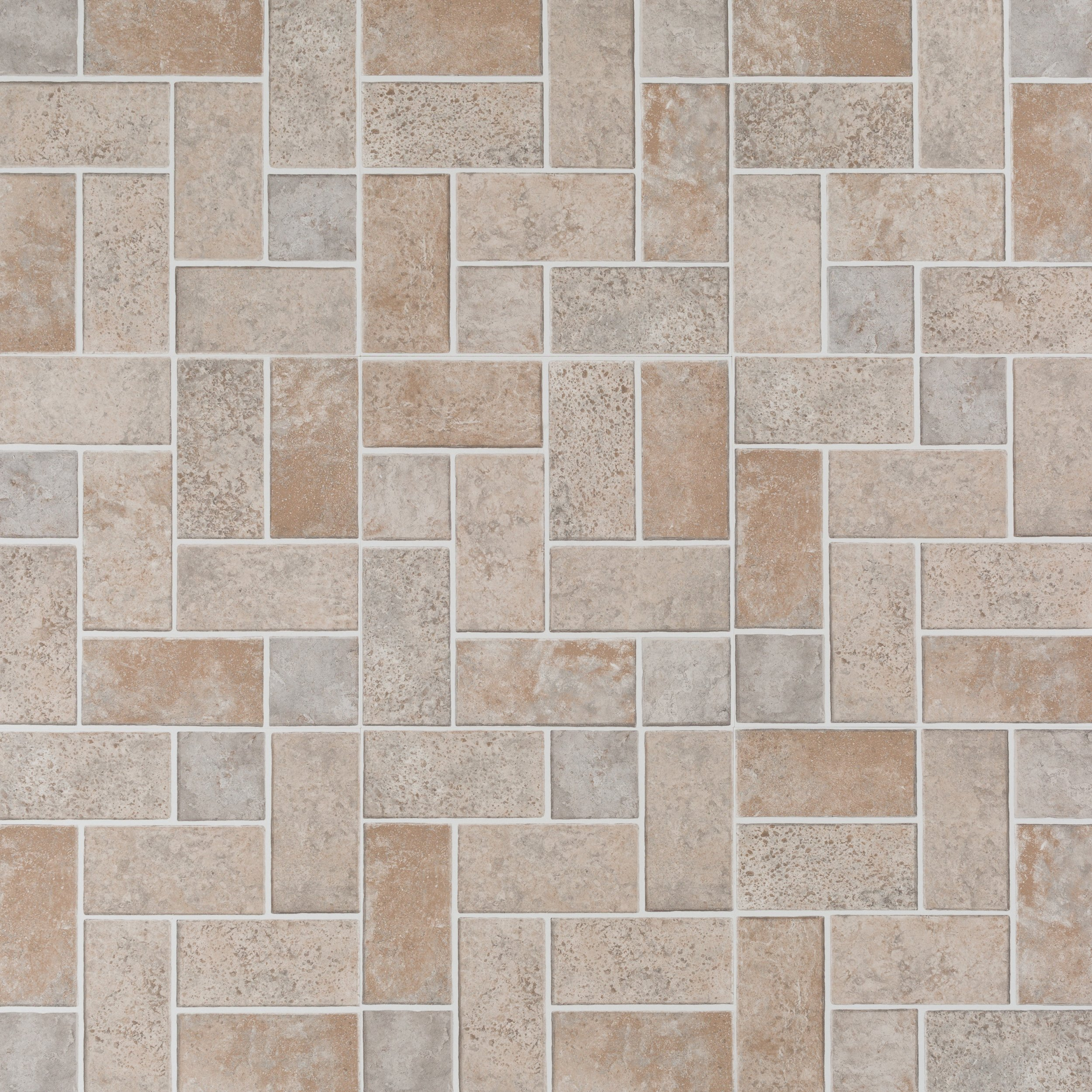 Brick Modular Gray Vinyl Tile 12in X 12in 100494368 Floor