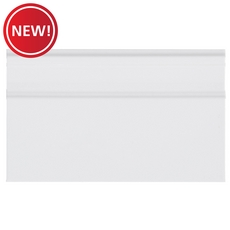 New! Bright White Ice Sanitary Trim