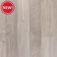 New! Hickory Snow Handscraped Locking Engineered Hardwood