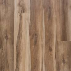 Spalted Oak Rigid Core Luxury Vinyl Plank - Cork Back