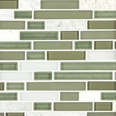 Vine Linear Glass Mosaic