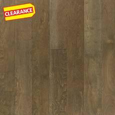 Clearance! Birch Gray Smooth Engineered Hardwood