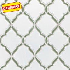 Clearance! Victorian Vine Porcelain Mosaic