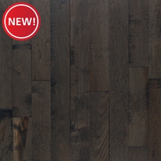 New! Patina Slate Hickory Distressed Solid Hardwood