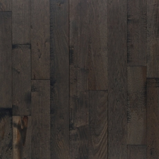 Patina Slate Hickory Distressed Solid Hardwood