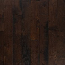 Black Bison Oak Distressed Solid Hardwood