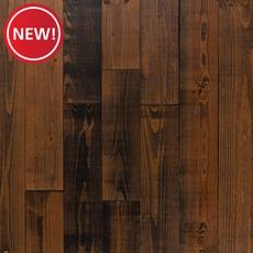 New! Black Sierra Pine Distressed Solid Hardwood