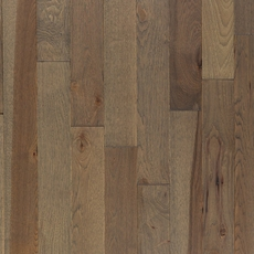 Stylish Gray Hickory Wire Brushed Solid Hardwood