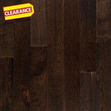 Clearance! Dark Sky Oak Smooth Solid Hardwood