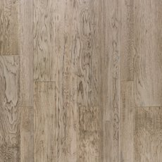 Light Gray Hickory Hand Scraped Engineered Hardwood