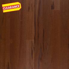 Clearance! Barros Brown Brazilian Tigerwood Solid Hardwood
