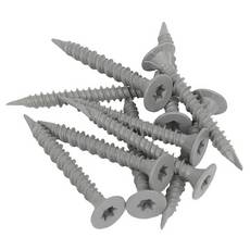 Goldblatt 1-5/8in. TRX Cement Screws - 600ct.
