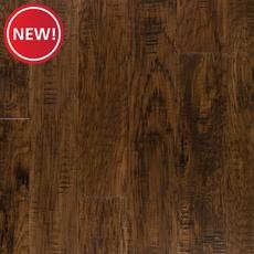 New! Rich Brown Hickory Techtanium Locking Engineered Hardwood