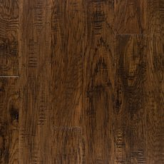 Rich Brown Hickory Techtanium Locking Engineered Hardwood